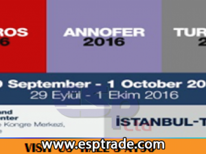 WE PARTICIPATED IN  ANKIROS-ANNOFER-TURKCAST 2016 EXHIBITION