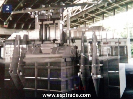 CSF - Chip Smelting Furnace with Melting Pocket Two stirrers